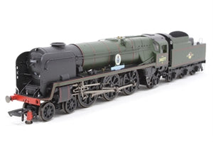"R3468 Hornby Class P6F Rebuilt Battle of Britain 4-6-2 34077 ""603 Squadron"" in BR Lined Green with late crest"