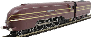 "R3639 Hornby Class 8P 'Streamlined Coronation' 4-6-2 6244 ""King George VI"" in LMS crimson lake DCC Ready. 8-pin socket"