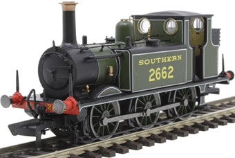 R3783 Hornby Class A1X Terrier 0-6-0T 2662 in Southern Railway olive green DCC Ready. 6-pin socket