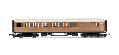 R4333 LNER Teak Brake Coach 4237, Railroad Range
