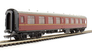 R4351 Hornby Mk1 CK corridor second M24439 in BR maroon - Railroad Range