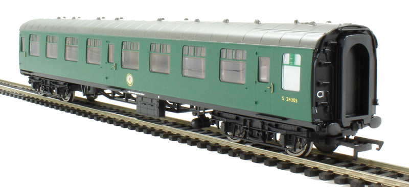 R4608 Hornby BR (ex SR) Mk1 2nd class coach with lights