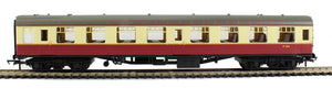 R4628 Hornby Mk1 SO second open M4363 in BR crimson and cream