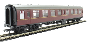 R4629 Mk1 SO second open E4536 in BR Maroon - Railroad range