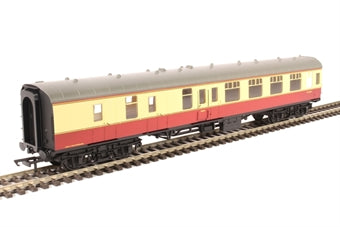 R4814 HORNBY BR Mk1 Corridor Brake Coach  Crimson/Cream livery, Railroad