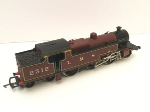 R505 Hornby LMS Fowler 2-6-4T Class 4P Locomotive, lined LMS Maroon 2312