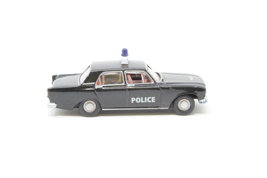 R7022 Hornby Ford Zephyr Saloon police car in black