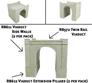 R8612 Skaledale R8612 Viaduct Extension Pillars x 2