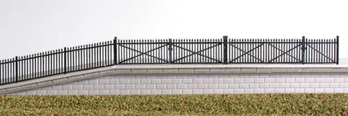 246 Spear Fence Ramps and Gates (N Gauge)