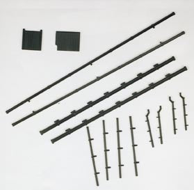 300 Gutters & Downpipes (N Gauge)