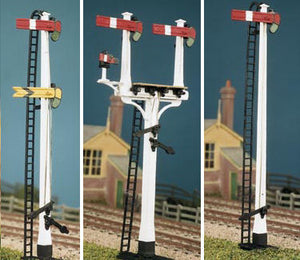 477 LNWR Square Post Signals