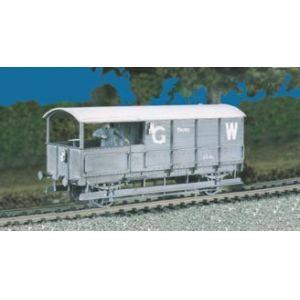 569 RATIO GWR 20T Brake Van
