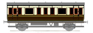 S108 Shire Scenes GWR Saloon, alternative sides for Ratio kit 613