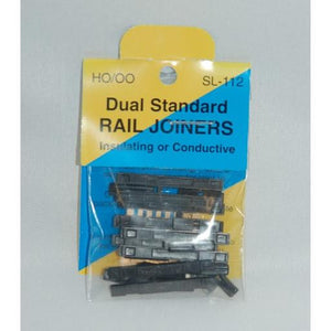 SL-112 Rail Joiners Dual Standard Insulating or Conductive To Convert Code 75 - 100 (12)