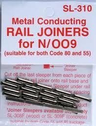 SL-310 Rail Joiners Metal N/OO9 Scale