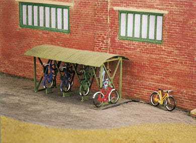 SS23 Bicycle Shed & Bicycles