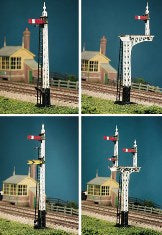 UQ80 RATIO LNER Upper Quadrant Lattice Post Signal Kit