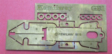 GB1 Kemilway Motor Mount for Hornby X04 or MW005 motors