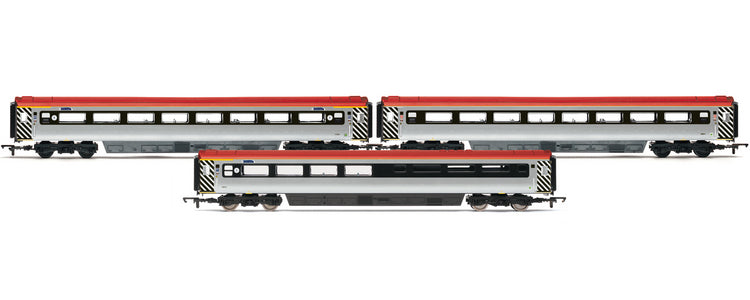 R4431 Hornby	Virgin Charter Relief Coach set, 3 pack