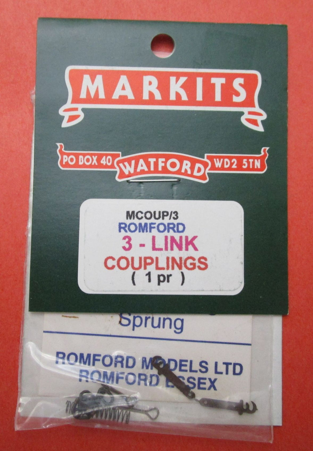 MCOUP/3 Couplings 3-Link 1 Pr