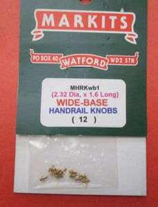 MHRKwb1 Handrail Knobs Wide Base (12)