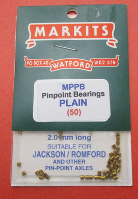 MPPB Plain Pin Point Bearings Pack of 50