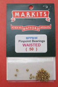 MPPB/W PP Bearings Waisted PK 50