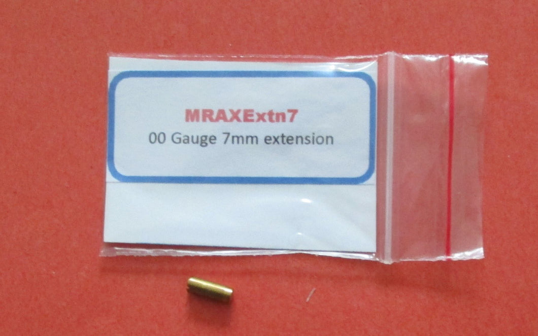 MRAXExtn7 Driving Axle Extension 7mm