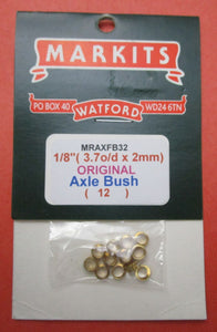 MRAXFB32 Markits Axle Frame Bushes 1/8in Pack of 12