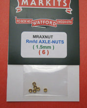 MRAXNUT Axle Nuts Pack of 6