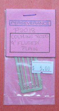 P2018 Coupling Rods 9ft plain