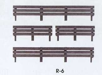 R-6 Peco 00 Gauge Coke Extension Boards to fit 7 plank wagons