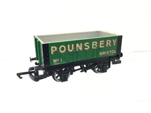 "R038 Hornby ""Pounsberry"" 5 plank wagon"