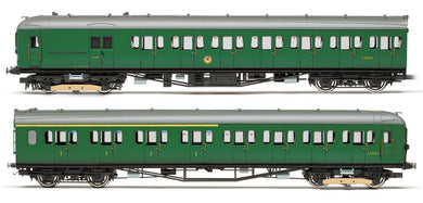 R3290 Hornby BR 2-HAL 2639 Train Pack in early green livery