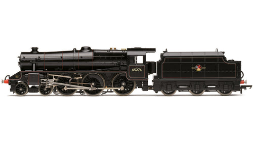 R3453 HORNBY BR (ex. LMS) Class 5MT Black Five 4-6-0  No.45274  Lined Black, late crest.  DCC Ready