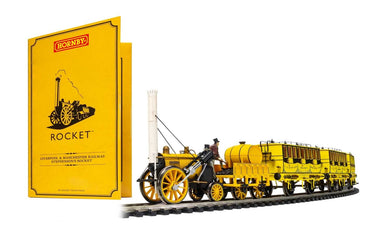 R3810 Hornby Liverpool and Manchester Railway Stephenson's Rocket Train Pack