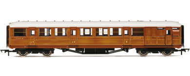 R4170E Hornby LNER 61ft 6in corridor Brake coach 4277