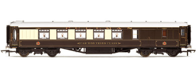 R4425 Hornby Pullman 3rd Class Brake car - steel sided