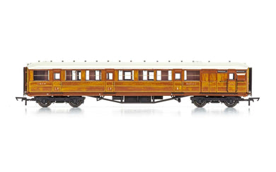 R4826 LNER 61ft 6in Corridor Brake Composite coach, 32557