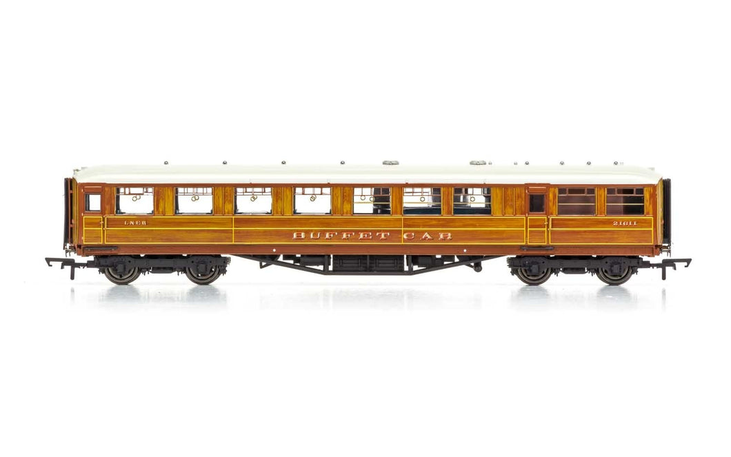 R4829 LNER 61ft 6in Corridor Buffet Coach, 21611