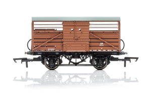 R6839A Hornby Dia.1529 Cattle Wagon, British Railways - Era 4