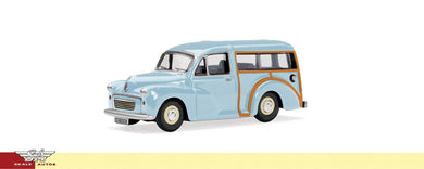 R7074 Hornby Morris minor traveller, pale blue