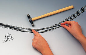 R8090 HORNBY Semi Flexible Track (915mm)