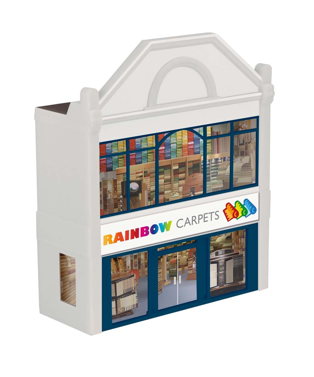 R9758 Low Relief:  Rainbow Carpets