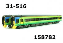 31-516 BACHMANN Class 158 2 car DMU Central trains