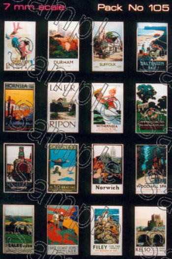 TS0105 TINY SIGNS LNER Travel Posters