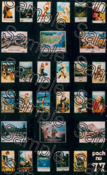TS0077 TINY SIGNS Travel Posters BR (sixties)