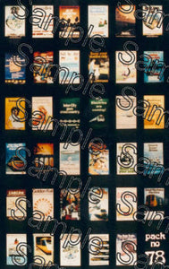 TS0078 TINY SIGNS Travel Posters BR (seventies)