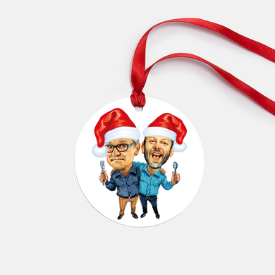 Limited Edition Caricature Ornament - 2019 Exclusive | FREE SHIPPING!