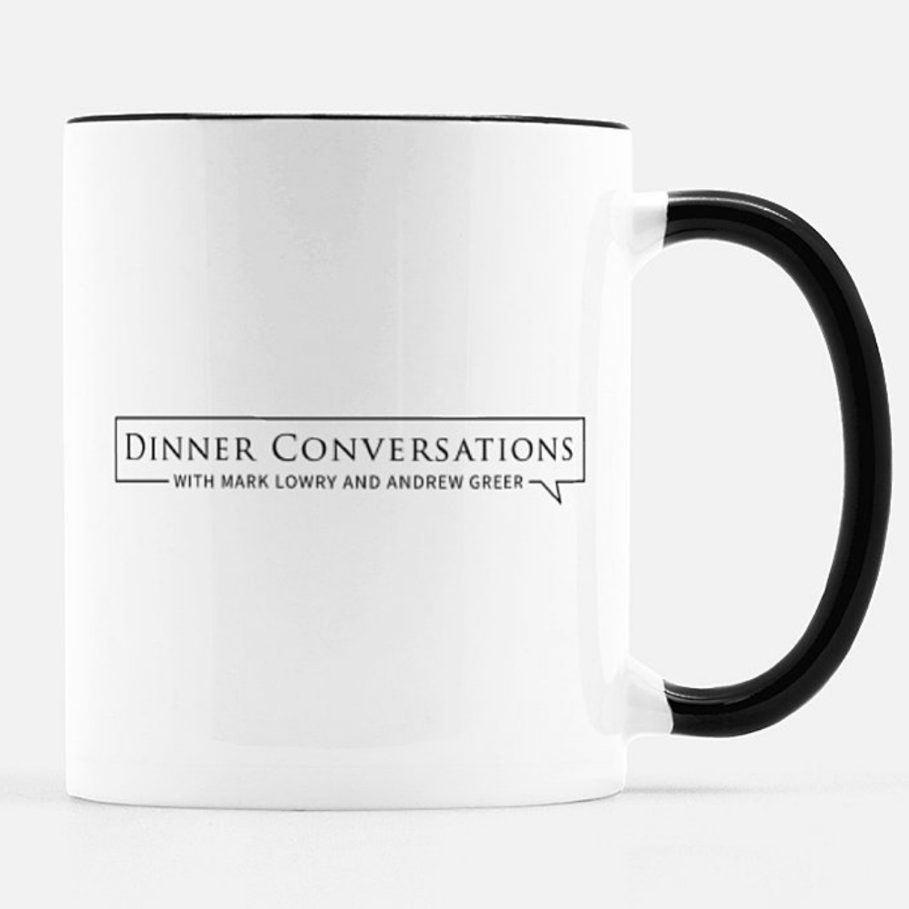 Official Dinner Conversations Mug